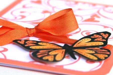 Orange Butterfly detail