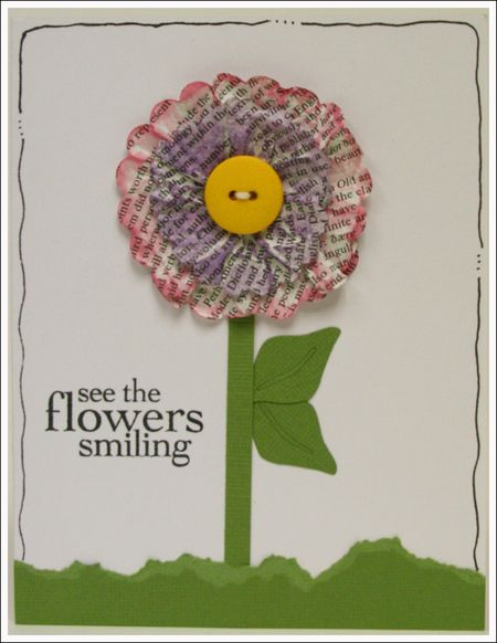 Flowers smiling