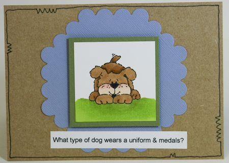 Dog Card 3