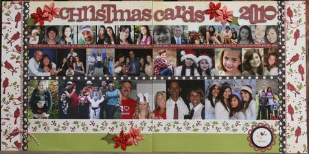Chirstmas card layout 2